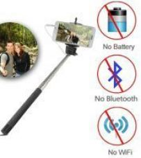 Buy Selfie Stick With 3.5mm Jack from Rediff