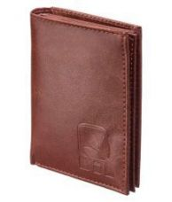 Wood Land Leather Tan Casual Regular Wallet for Rs. 369