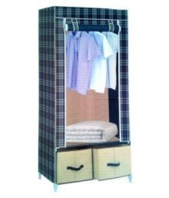 Buy YUTIRITI Fancy & Foldable Printed Wardrobe With Cover Space Saver Storage Organiser from SnapDeal