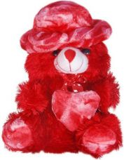 Get 50% off on DSD CUTE BIG RED HAT TEDDY WITH HEART FOR VALENTINES, B...