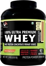 Flat 57% off on Advance MuscleMass 100% Whey Protein Supplement Powder (Chocolate) 3 Kg/6.6 Lb (92 Servings) with Digezyme (a blend of digestive enzymes) Whey Protein