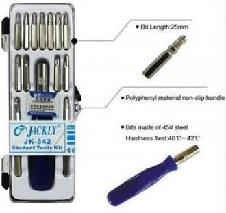 Buy Jackly 16 In 1 Best Quality Portable Screwdriver Set for Rs. 99