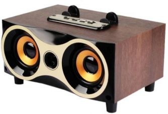 Buy CELESTECH CTXM6 Wooden Wireless Speaker with Mic 3 W Bluetooth  Speaker for Rs. 1,349
