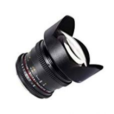 Flat 10% off on Samyang Cine SYCV14M-NEX 14mm T3.1 Cine Wide Angle Lens...