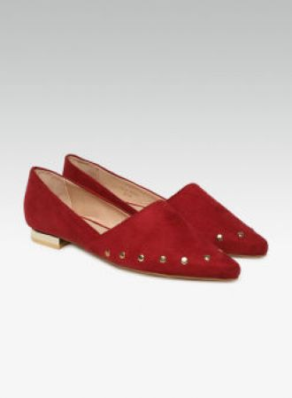 Buy Carlton London Burgundy Ballerinas for Rs. 1397