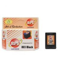 Buy RPS Black Pack of 1 Cartridge for 803 HP DeskJet 1112 Printer 2131 2132 2621 2622 2623 5020 5055 5220 5255 5264 for Rs. 499